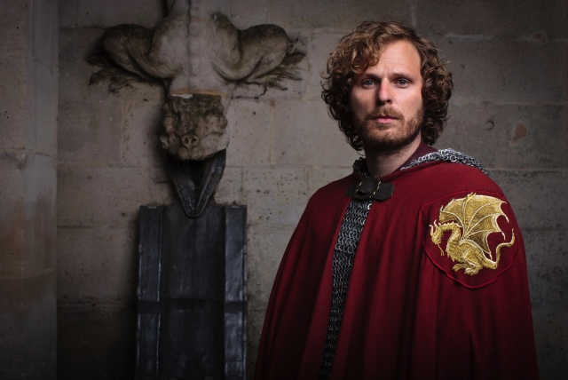Rupert Young is Sir Leon in Merlin season 5 copy