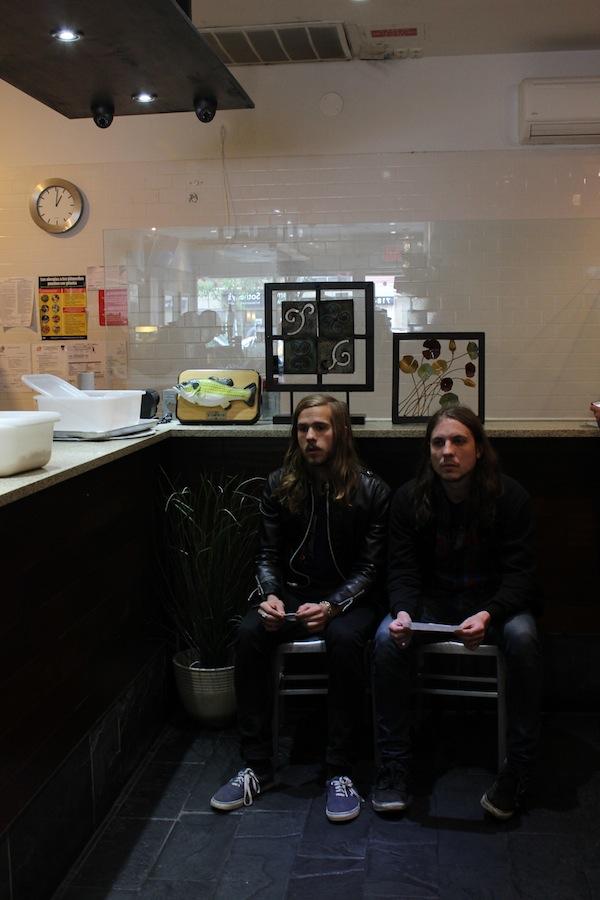 John and Sam of the Howl at Vanessa's Dumplings